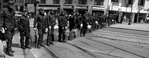 Bruxelles paralyzed