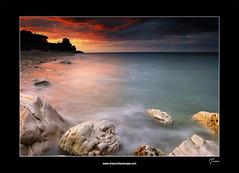 Portonovo- Ancona-Monte Conero (lucagiustozzi.com) Tags: sunset gmt lemarche portonovo parconazionaledelconero