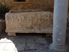 Sarcophagus (steven_and_haley_bach) Tags: byzantine mystras sixthday mistras greecevacation byzantineruins