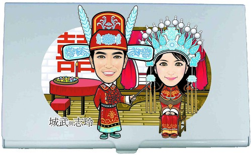 Chinese Traditinal Wedding Namecard Holder