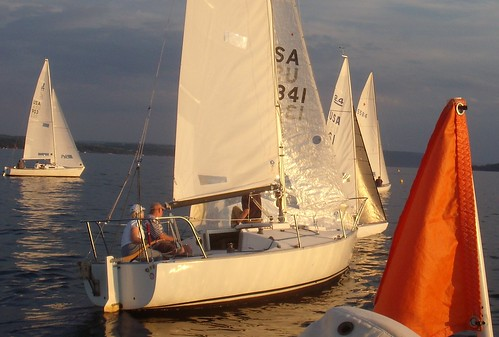 Canandaigua Yacht Club GO Fleet start