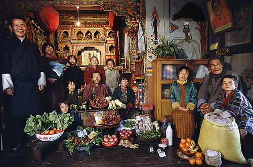 Bhutan - Family Food