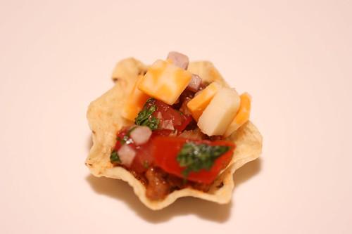 Bite-sized tacos