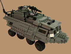 """The Mole"" Transport (Battledog) Tags: lego military transport moc"