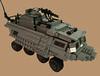 """The Mole"" Transport (Battledog) Tags: lego military transport moc"