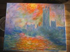 Frei nach Monet (Joachim Weigt) Tags: painting aquarelle paintings canvas oil joachim oilpainting acryl öl oiloncanvas aquarell gemälde ölbild ölgemälde weigt acrylbild acrylbilder ölbilder acrylgemälde joachimweigt