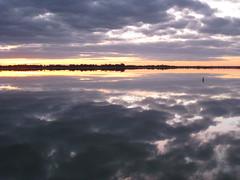 Sunset (Helen K) Tags: sunset lakebonney bamera