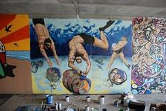 DSC_0766 (Kurt Christensen) Tags: art beach painting mural surf thrust gilgobeach gilgo