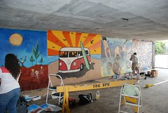 DSC_0782 (Kurt Christensen) Tags: art beach painting mural surf thrust gilgobeach gilgo