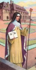 Heilige Odilia, Patronin des Elsaßes