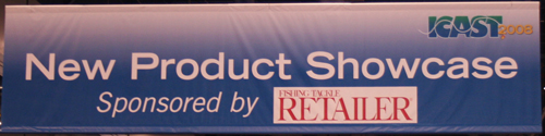 ICAST 2008 New Product Showcase Banner