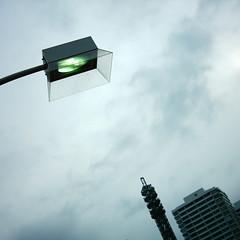 【写真】ミニデジで撮影した街灯@パシフィコ横浜