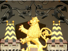 "Lion of the ""Rathaus"" of Munich (Marco Braun) Tags: munich mnchen leo lion leon 2008 lwe leones leeuw"
