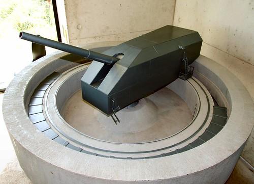 Model of the bunker