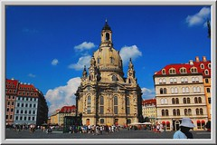 Dresden, Frauenkirche and New Market (Tobi_2008) Tags: city church germany deutschland dresden town searchthebest saxony kirche sachsen stadt frauenkirche silvermedal allemagne soe germania neumarkt outstandingshots mywinners abigfave anawesomeshot travelerphotos diamondclassphotographer flickrdiamond ysplix theunforgettablepictures theperfectphotographer nikonflickraward