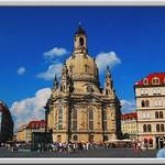 Dresden, Frauenkirche and New Market