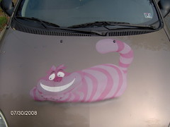 HPIM0210 Disney Cheshire Cat car