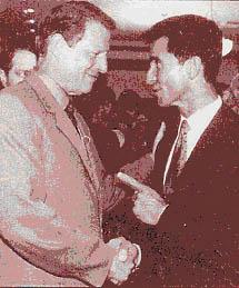Leno & Al Gore