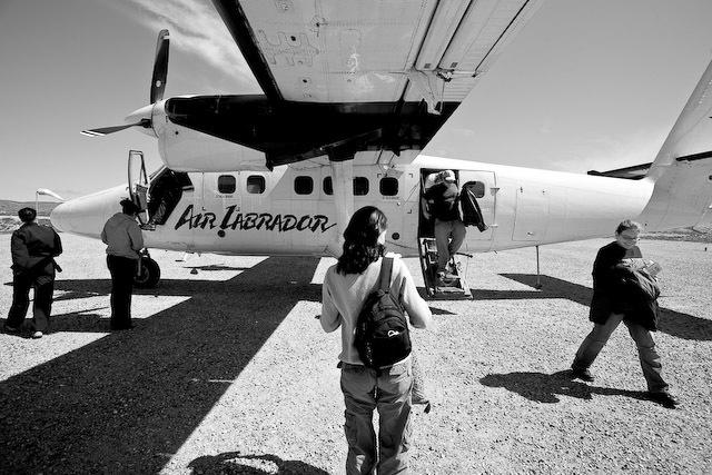 Air Labrador Flight to Hopedale