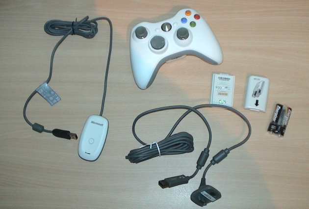 Microsoft xBox 360 gamepadas for Windows PC