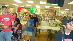 Atomic Comics Signing
