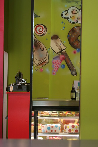 A view of Chaos Theory Cakes, Chicago