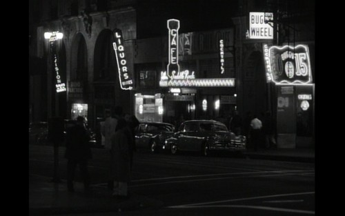 a still from the K. McKenzie film, The Exiles, shoot on Main Street