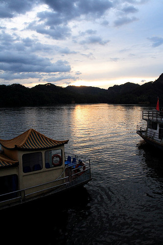 大金湖夕照 (by Audiofan)