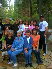 Me with my siblings, mom, aunt, cousins, nieces, nephews, et al