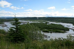 Copper River Near Gakona (willowD) Tags: alaska wrangell copperriver stelias wrangellsteliasnationalpark gakona