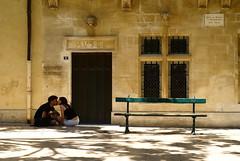 Kiss me (the bbp) Tags: france love bench kiss couple provence francia amore bacio coppia provenza panchina saintremydeprovence thebbp