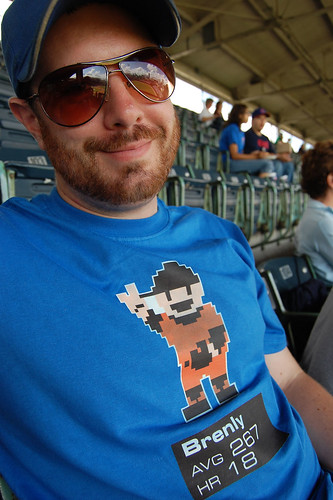 Mike' Bob Brenly 1987 NES RBI Baseball Shirt