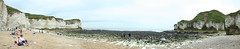 Selwick Bay - Beach Level Panorama (Richard Allaway) Tags: england panorama coast geography landform