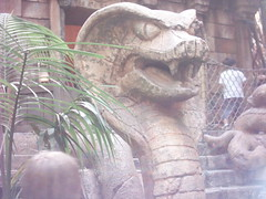 Indiana Jones Adventure Snake (total.awesomeness) Tags: california park ca statue cali amusement jones waiting ride snake disneyland indiana disney line adventure theme anaheim