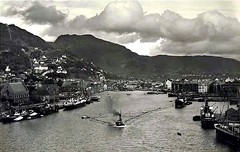 Norway,Bergen 1928 (BSMK1SV) Tags: norway bergen 1928