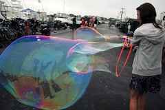 . (alexa. (new flickr)) Tags: birthday party summer people me colors girl marina self boats boat hoodie dress bubble 16 alexa trippy paynes giantbubble amazingbubblething