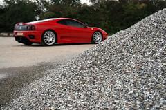 Ferrari 360 Challenge Stradale (Jeroen Buitenhuis) Tags: red wheel italian photoshoot 360 ferrari cs challenge v8 stradale