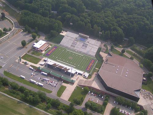 this is a aerial view of