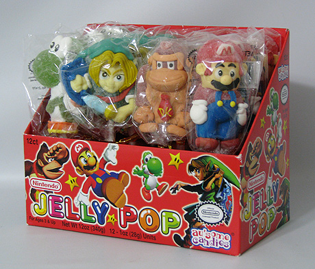 Nintendo Jelly Pop candy