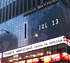 Lehman Brothers Building Photoshopped
