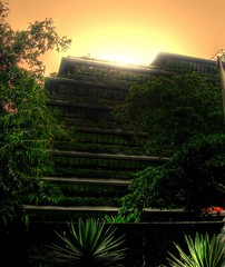 sunsetrise (hdr) (SaDDuL) Tags: sunset building hdr flickrsbest pinoyhdr