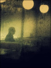 By the end of the day (Ekler) Tags: man window wet lamp rain dark table restaurant day sitting sad place tag think explore end inside toolate dreamcatcher ekler artlibre artlibres theunforgettablepictures olympusfe280 soloha