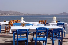 *** (Marek52) Tags: blue sea summer white color colors chair greece rodos rhodes rodi rhodos kolymbia kolympia