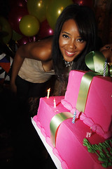 Angela Simmons 21st birthday party pictures