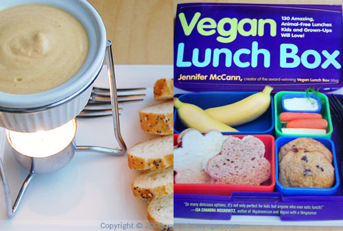 Vegan Fondue From Vegan Lunch Box
