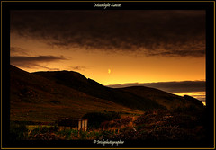 Moonlight Sunset (Irishphotographer) Tags: ireland sunset mountains art sunshine stunning sureal skys hdr irishart kinkade beautifulireland hdrunlimited sunsetshadow irishphotographer besthdr imagesofireland picturesofireland pentaxk20d kimshatwell irishphotographerkimshatwellireland moonlightsunset irishcalender09 calendarofireland breathtakingphotosofnature beautifulirelandcalander wwwdoublevisionimageswebscom
