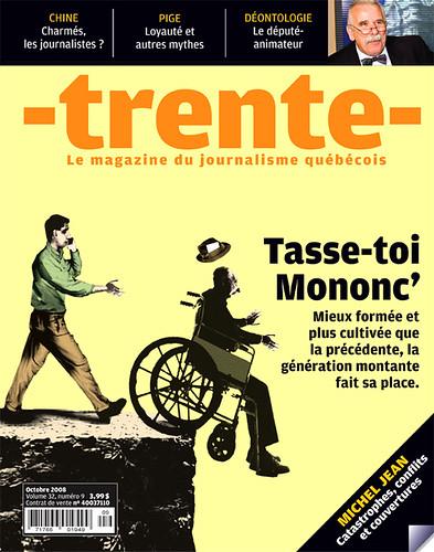 Magazine trente octobre 2008