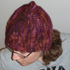 Pixie Flora hat closeup