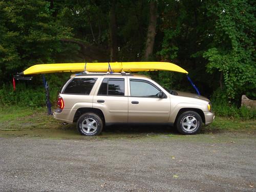 Kayak Roof Rack For Envoy Chevy Trailblazer Trailblazer