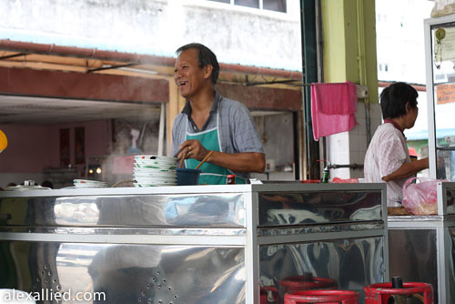Kampua Stall Uncle